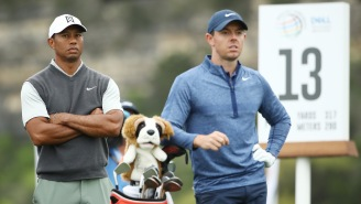 Rory McIlroy Describes How Tiger Woods' Intimidation Is Still Just As Noticeable Now As It's Ever Been