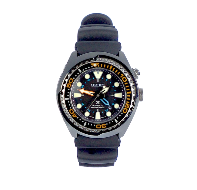 Seiko Prospex Kinetic GMT Diver's 200m from Watch Gang