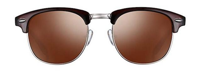 Semi-Rimless Polarized Sunglasses from Joopin