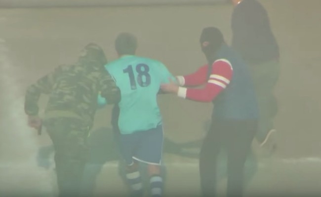 Italian soccer player stages mafia style kidnapping