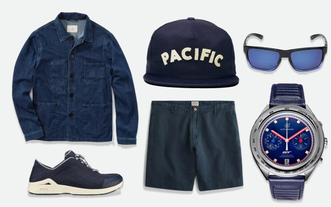 Steal This Look Blue