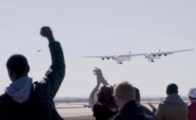 Stratolaunch world's largest plane