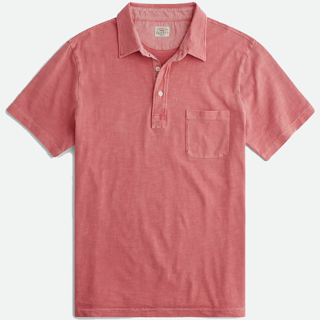 Sunwashed Polo from Faherty Brand