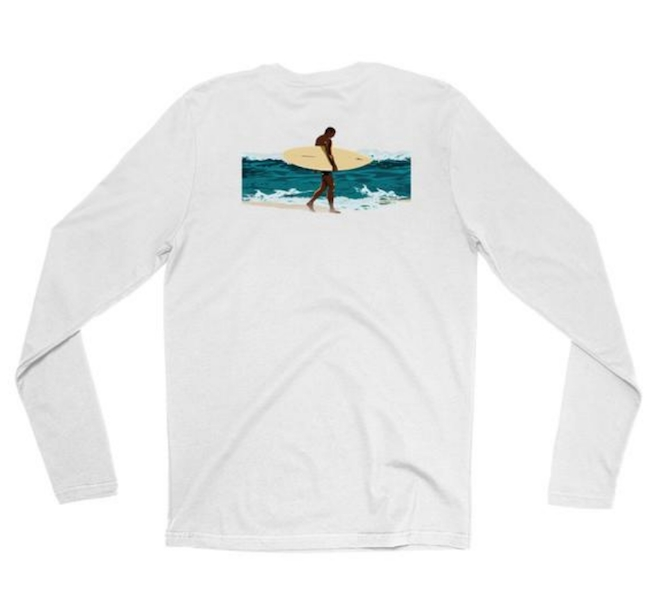 Surfer Long Sleeve Tee from Let's Drift