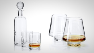Sip Your Bourbon Like A Distinguished Gentleman With This Hand-Blown Whiskey Glassware Made In North Carolina