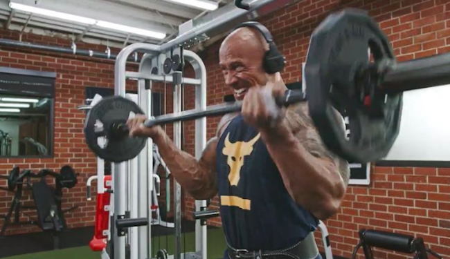 The Rock Bicep Exercises