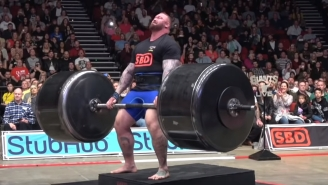 Hafthor 'The Mountain' Bjornsson Admitted He Used Steroids On His Way To Becoming The World's Strongest Man