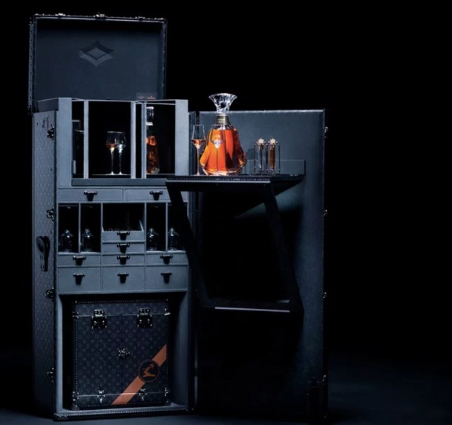 Louis Vuitton Hennessy trunk
