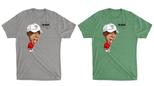 Tiger Victory T-Shirt