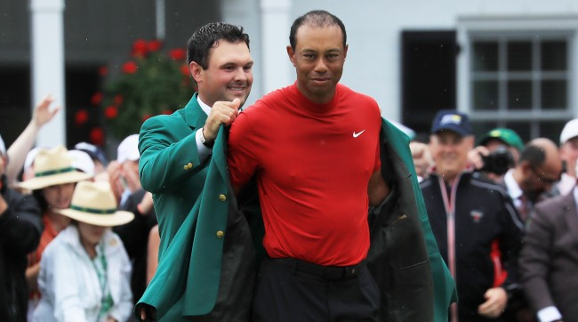 Tiger Woods Didnt Get A New Green Jacket For Winning The Masters