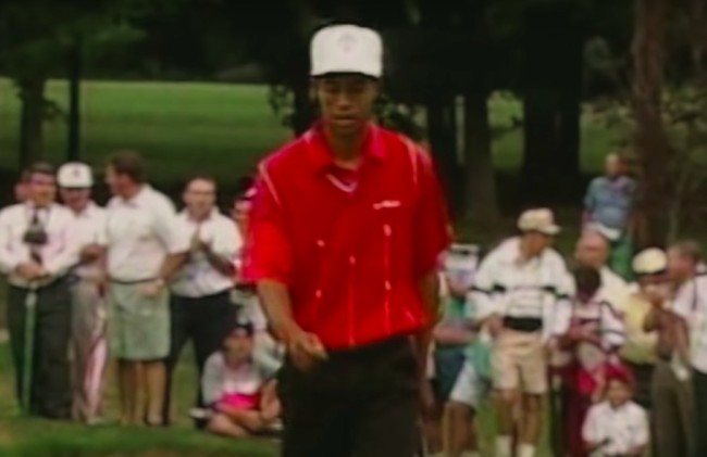 tiger woods masters commercial