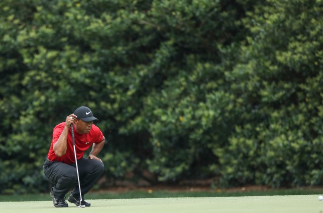 Tiger Woods shares his thoughts on his mindset during the back nine of The Masters' final round.