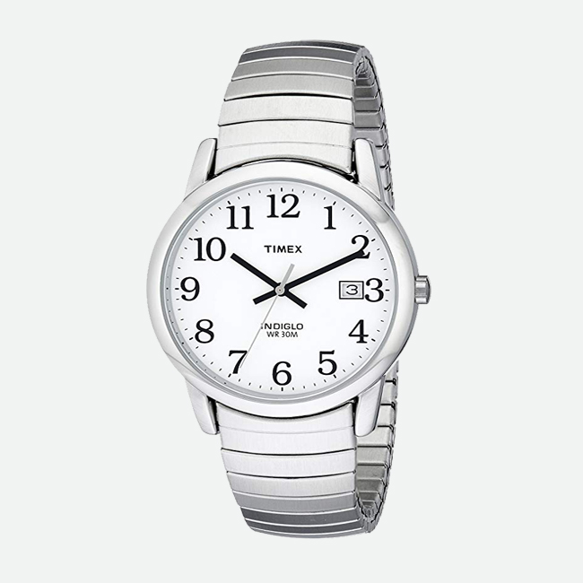 Timex Easy Reader Expansion Band Watch