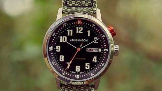 Everyday Carry For Earth Day: New Jack Mason Solar Powered Watch Is Made From Recycled Materials