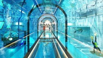 The World's Deepest Swimming Pool Opens This Fall, Will Have Hotel Rooms With Underwater Views