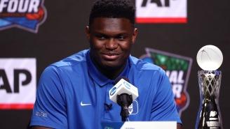 Jerry West Gives Zion Williamson The Ultimate Level Of Respect When Talking About Duke Star Going No. 1 In NBA Draft