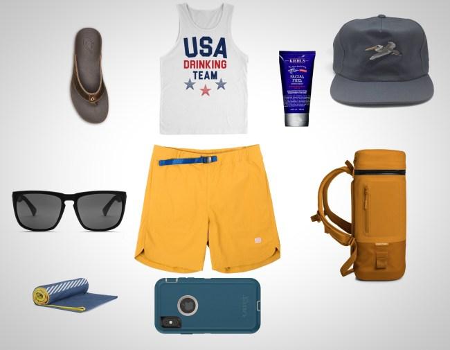 2019 best beach gear for men