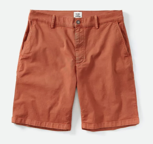 365 Shorts in Rust from Flint and Tinder