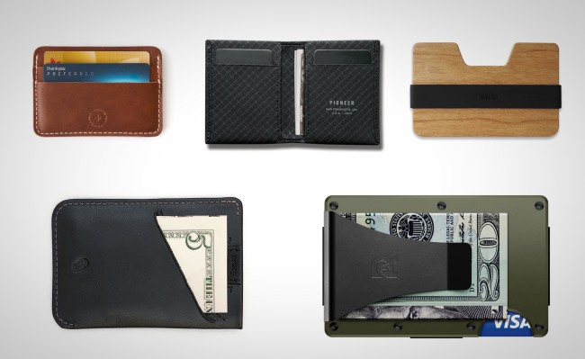 best everyday carry slim wallets 2019