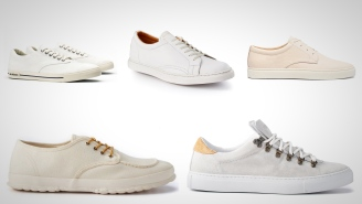 5 Pairs Of White Sneakers That Are Perfect For Summer Days And Nights