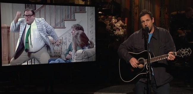 adam sandler chris farley song SNL