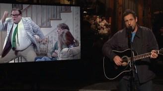 Adam Sandler Pays Emotional Tribute To 'My Boy' Chris Farley On 'SNL'