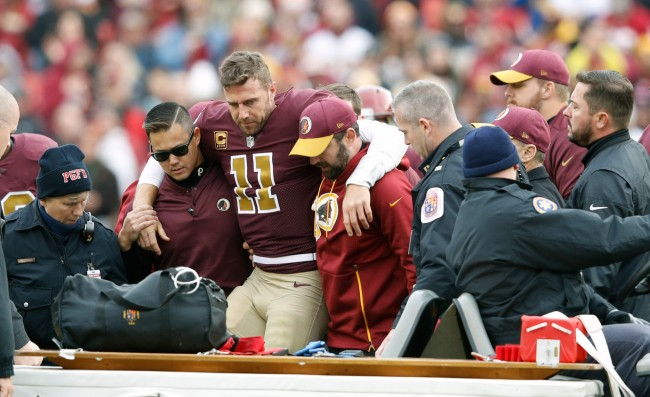 Alex Smith Makes Appearance At Redskins Camp, Throws Footballs