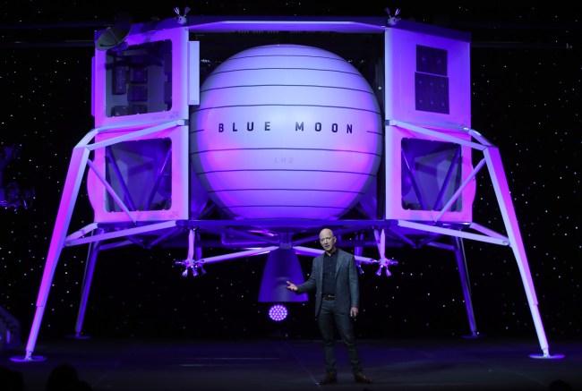 Amazon Jeff Bezos Says He is Sending A Spaceship To The Moon