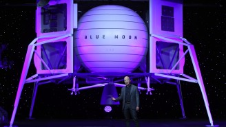 Amazon Honcho Jeff Bezos Says He's Sending A Spaceship To The Moon, But Will There Be Free Two-Day Delivery?