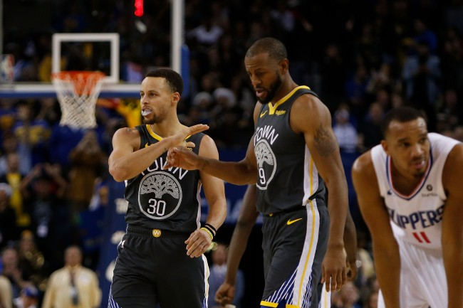 Andre Iguodala claims that he Stephen Curry is the second-best player in NBA history behind Michael Jordan.
