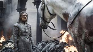 Hidden Meaning Of Arya's White Horse From 'The Bells' Episode And What It Means For 'Game Of Thrones' Finale