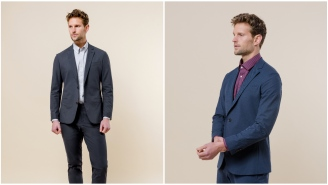 The First Custom Suit Made With Athleisure Material Is Here To Change Our Lives