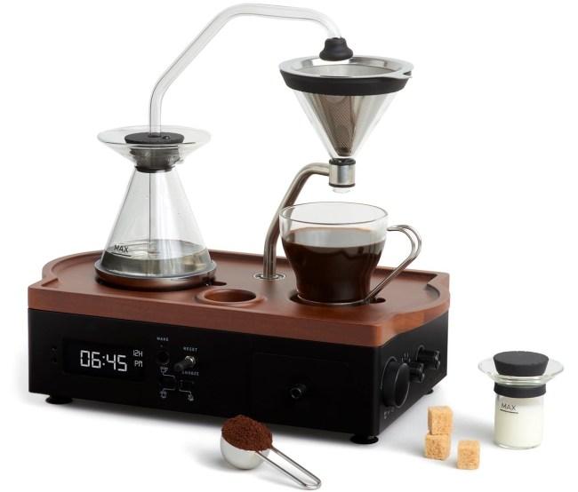 Barisieur Coffee Brewing Alarm Clock