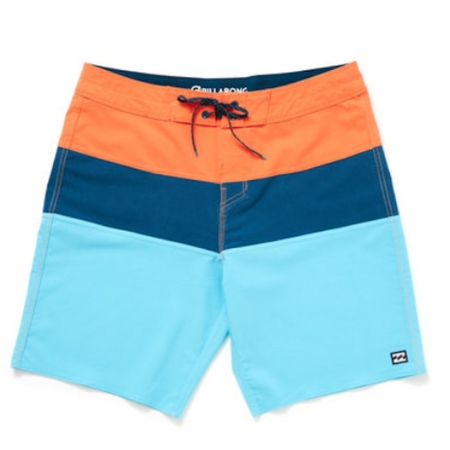 Billabong Tribong Pro Solid Colorblock Boardshorts from South Moon Under