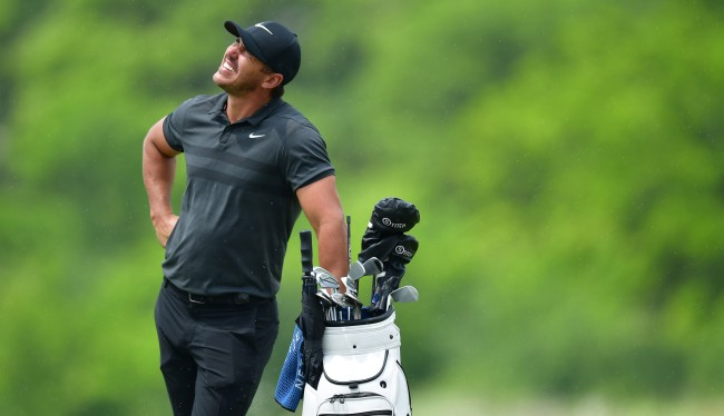 Brooks Koepka Won Free Beer For New York By Hitting A Green On A Barge