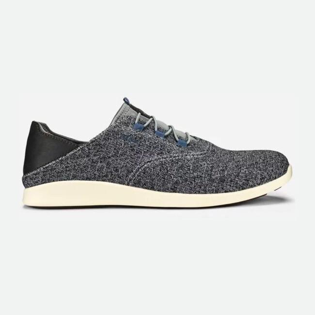 ʻĀlapa Li Sneaker in Charcoal from Olukai