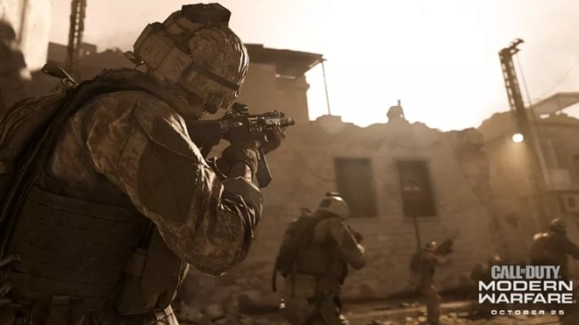 Call Of Duty: Modern Warfare first trailer 2019 from Infinity Ward.