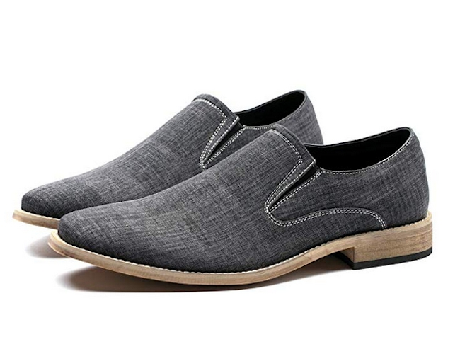 Casual Canvas Classic Loafers from Caroto