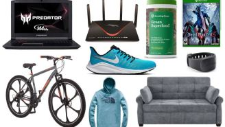 Daily Deals: Mongoose Mountain Bikes, Gaming Gear, Nike Running Shoes, North Face Clearance, Lucky Brand Sale And More!