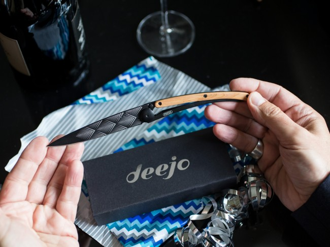 Deejo Knives are a perfect addition to every guy's daily travel game