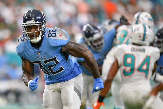 Delanie Walker of the Tennessee Titans details scary story about how he almost died from an IV during a 2016 NFL game