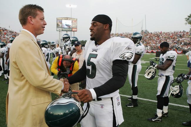 Donovan McNabb calls out Troy Aikman as a reason for why he should be in the Pro Football Hall of Fame