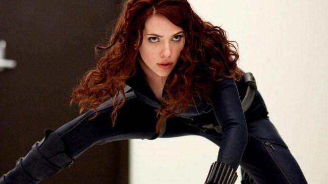 First Photos Of Scarlett Johanssson On Standalone Black Widow Movie