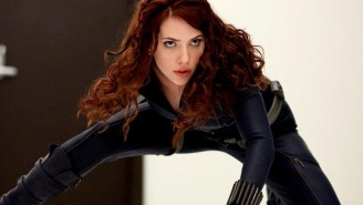 First Set Photos Of Scarlett Johanssson In Standalone 'Black Widow' Movie Surface As Production Begins