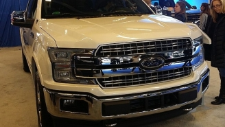 Spy Shots Capture Next Generation F-150 And Ford's Upcoming Electric Truck