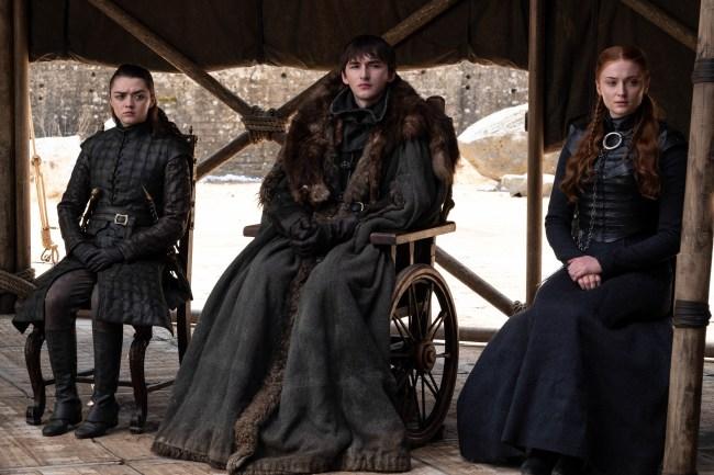 Bran Stark Arya Stark Sansa Stark Game of Thrones Season 8 series finale