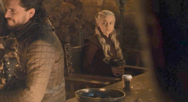 Game Of Thrones Executive Producer Jokes About Viral Coffee Cup