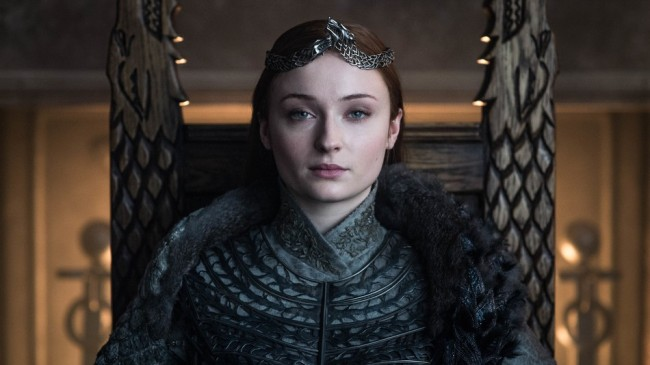 Sophie Turner AKA Sansa Stark says fans need to get a grip and calls the Game of Thrones petition disrespectful.