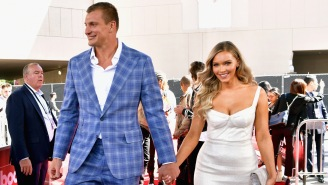 Rob Gronkowski Looks Possessed By The Party Gods In These Clips Of His Reckless Retirement Party In Vegas