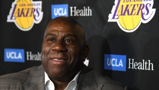Lakers Fans Troll Magic Johnson For Tweeting About The Team Getting The Fourth Pick In The NBA Draft